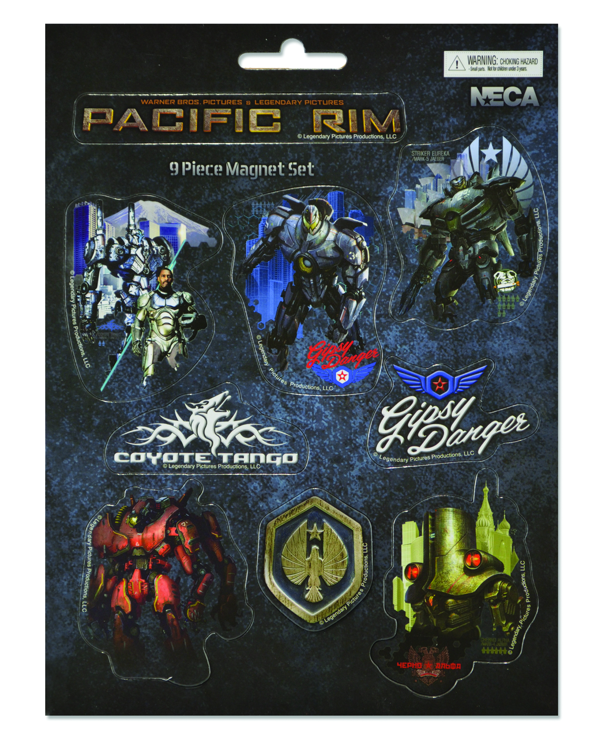 PACIFIC RIM JAEGERS 10PC MAGNET SET