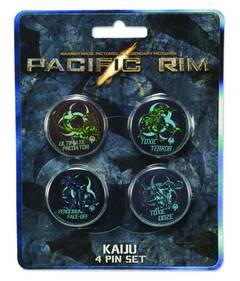 PACIFIC RIM KAIJU PIN SET