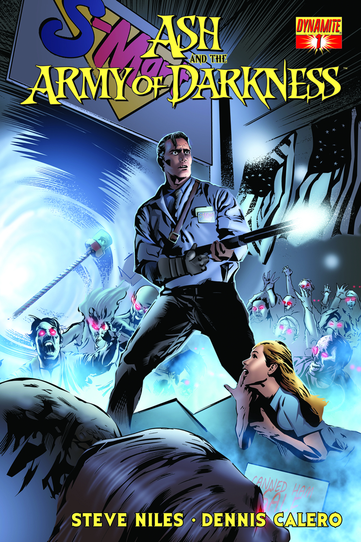 ASH & THE ARMY OF DARKNESS #1 CALERO SUBSCRIPTION VAR