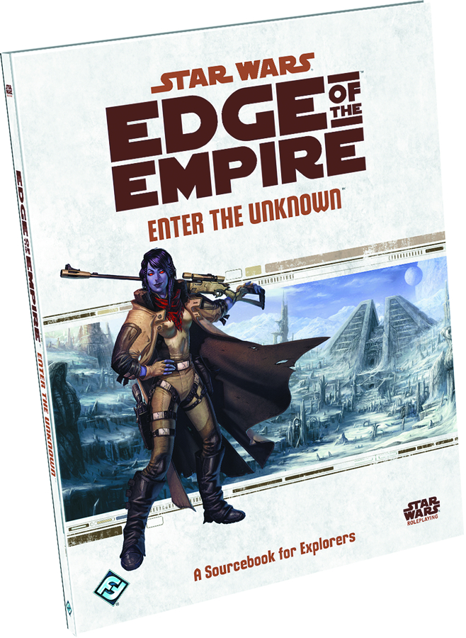 STAR WARS RPG EDGE OF THE EMPIRE ENTER THE UNKNOWN BK
