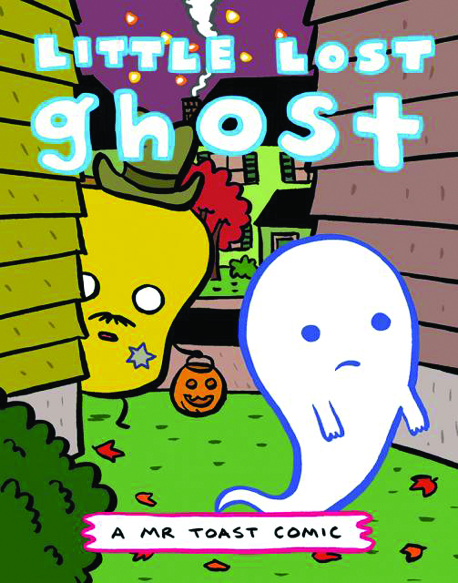 MR TOAST COMICS #6 LITTLE LOST GHOST