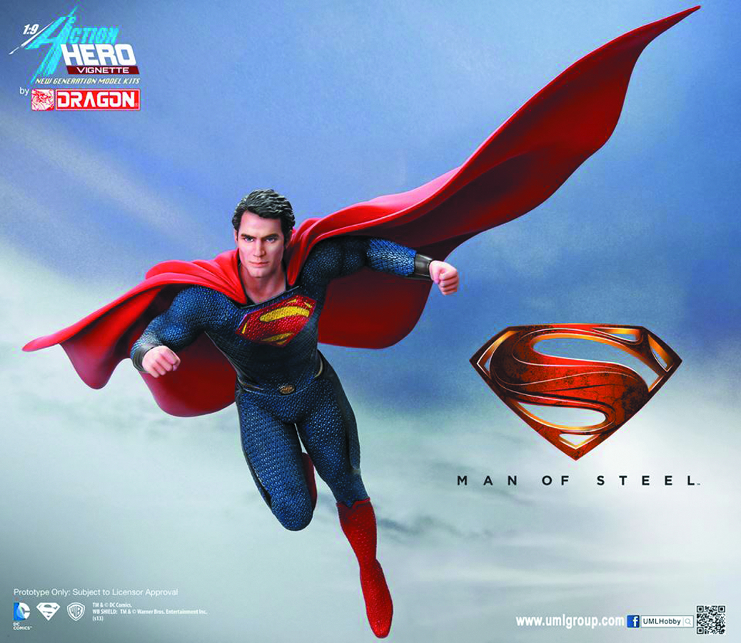 MAN OF STEEL SUPERMAN AHV