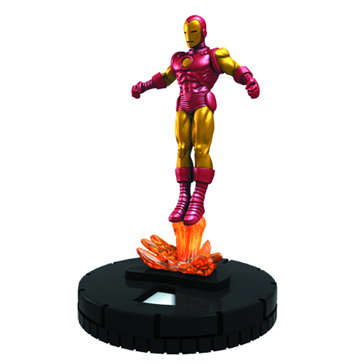 MARVEL HEROCLIX INVINCIBLE IRON MAN 24 CT GRAVITY FEED