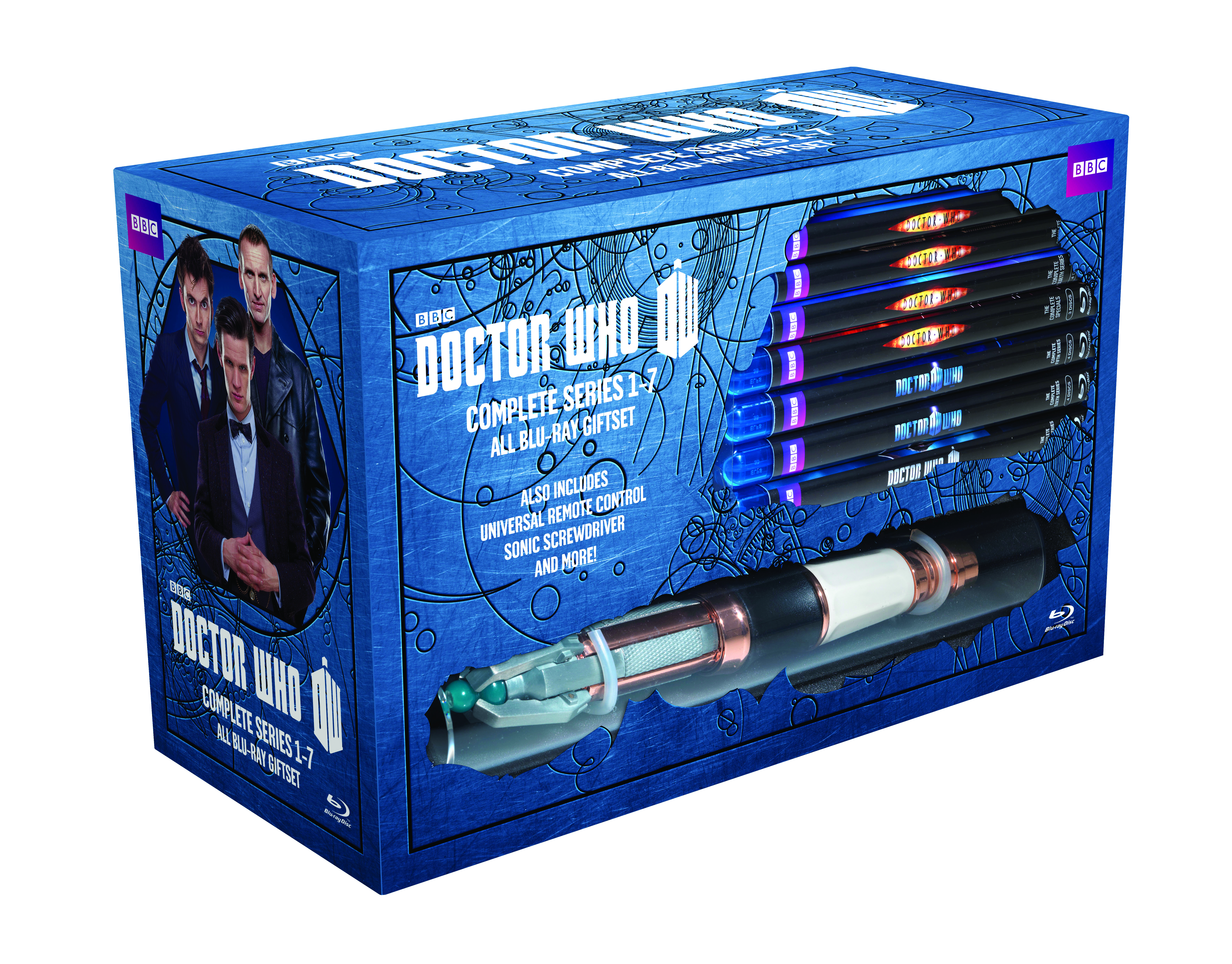 DOCTOR WHO BD COMP SER 01-07 LTD ED GIFT SET