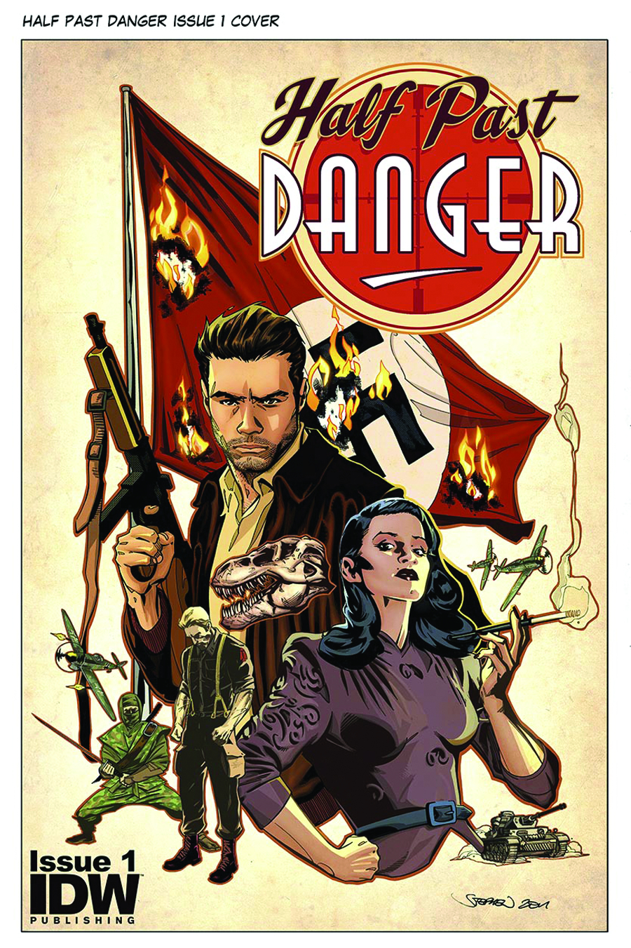 HALF PAST DANGER #1 (OF 6) 3RD PTG