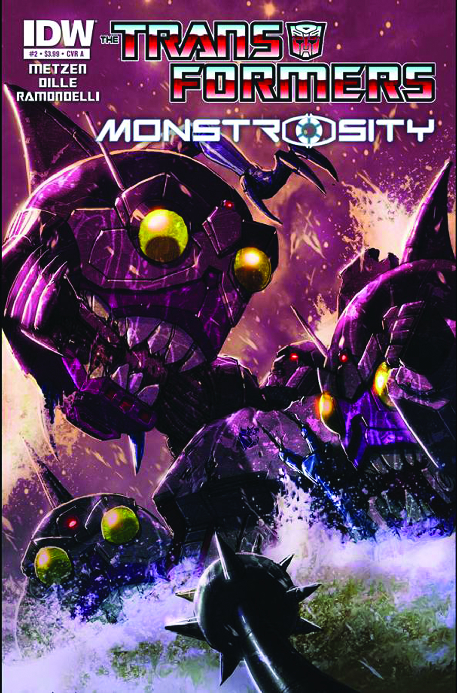 TRANSFORMERS MONSTROSITY #2 (OF 4) 2ND PTG