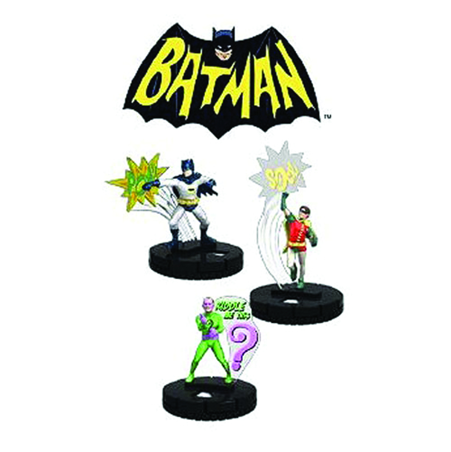 DC HEROCLIX BATMAN CLASSIC TV 24 CT GRAVITY FEED DS