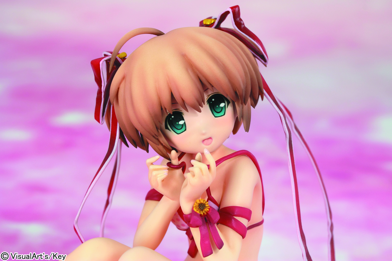 LITTLE BUSTERS KOMARI PVC FIG SWIMSUIT VER