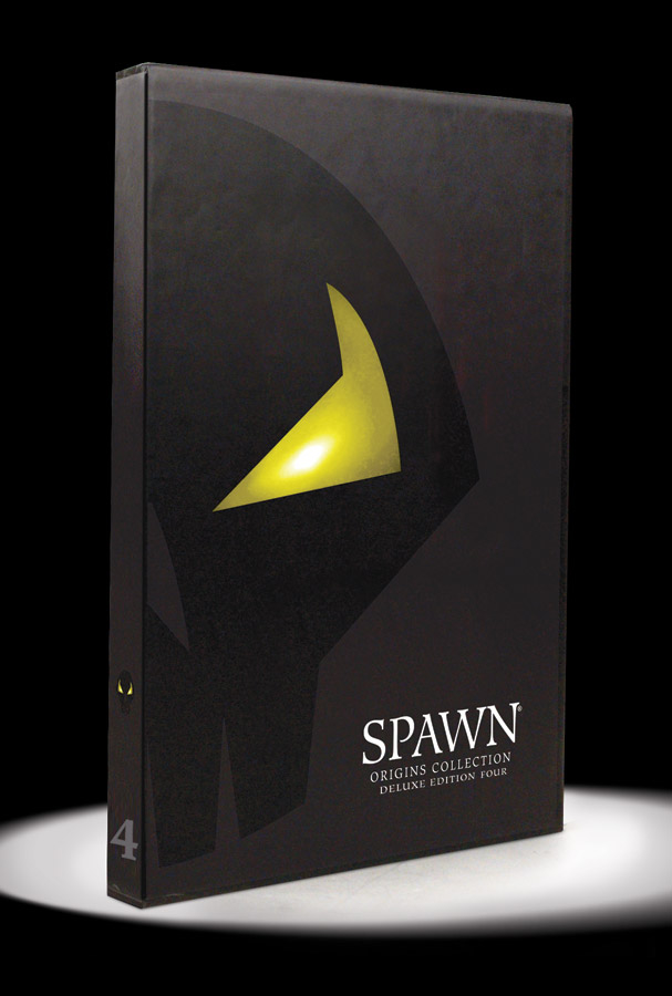 SPAWN ORIGINS DLX ED S/N HC VOL 04