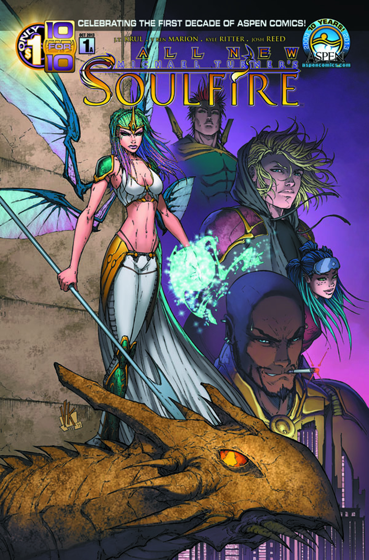 ALL NEW SOULFIRE #1 INCV STORE SIGNING