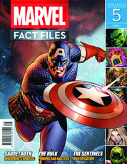 MARVEL FACT FILES #5 CAPTAIN AMERICA COVER