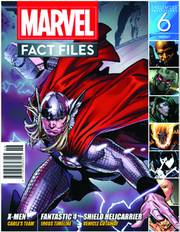MARVEL FACT FILES #6 THOR COVER