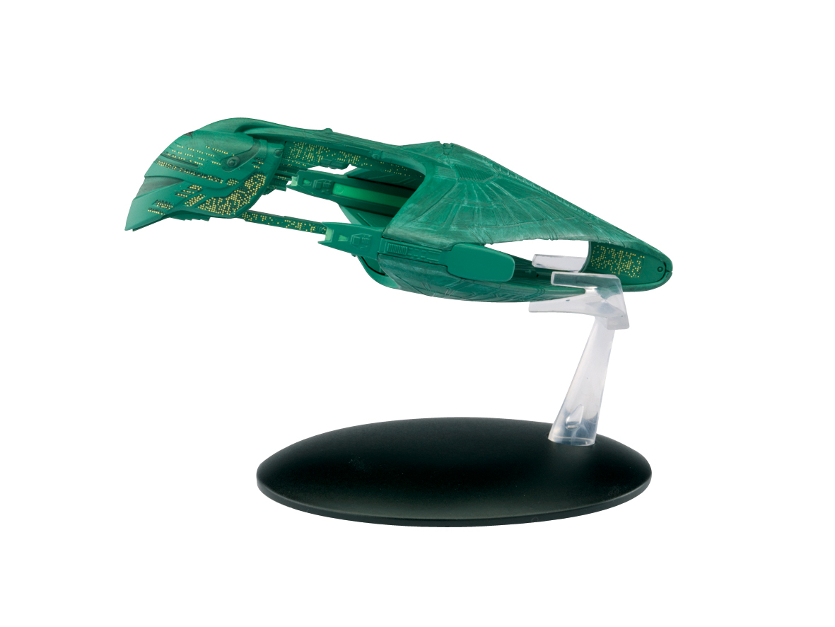 STAR TREK STARSHIPS FIG MAG #5 ROMULAN WARBIRD