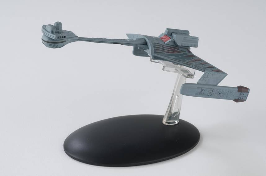 STAR TREK STARSHIPS FIG MAG #7 KLINGON KTINGA-CLASS BATTLECR