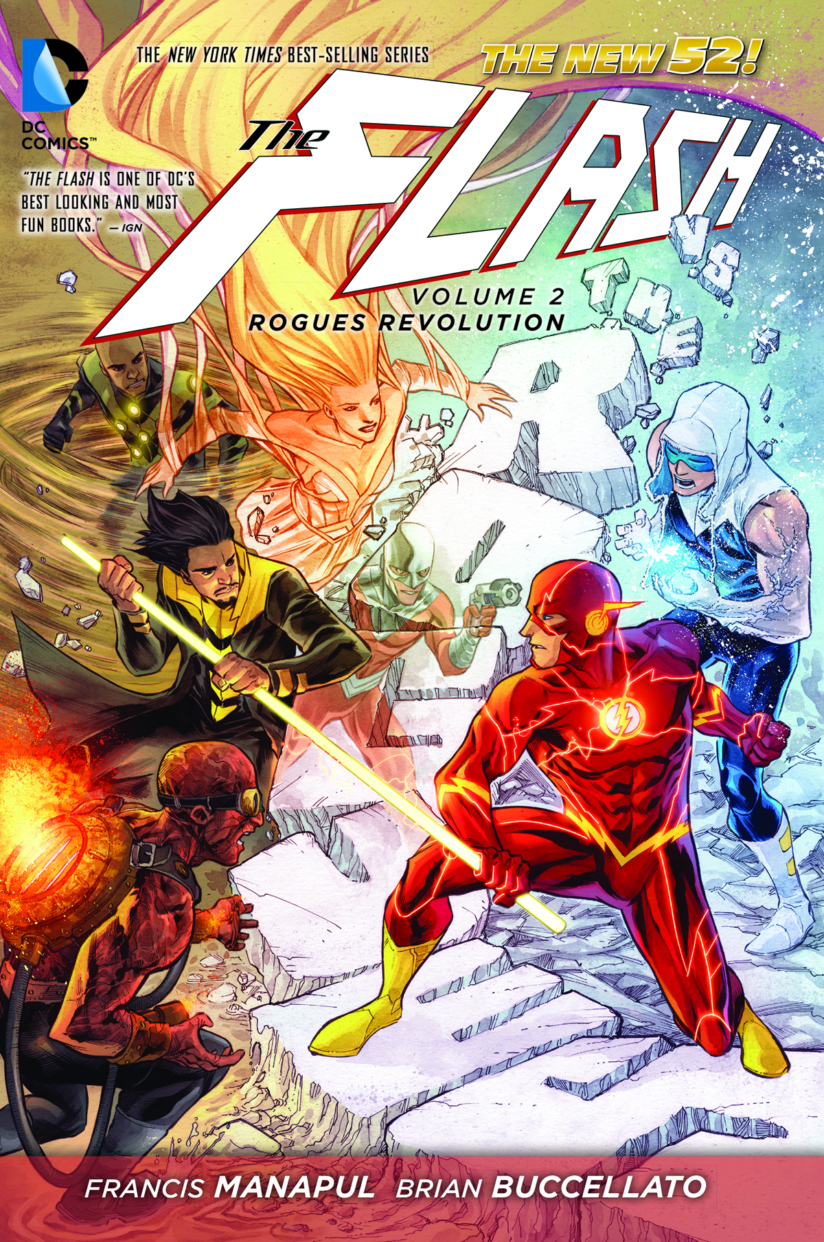 FLASH TP VOL 02 ROGUES REVOLUTION