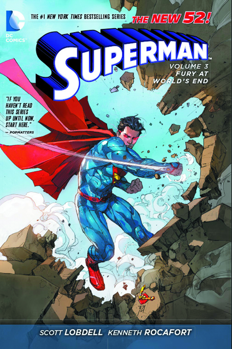SUPERMAN HC VOL 03 FURY AT THE WORLDS END