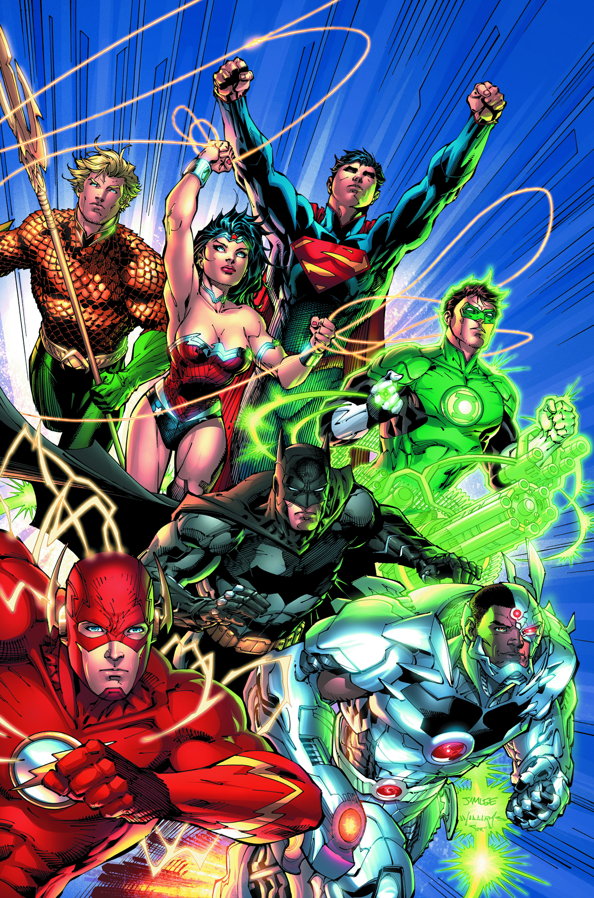 DC COMICS ESSENTIALS JUSTICE LEAGUE #1