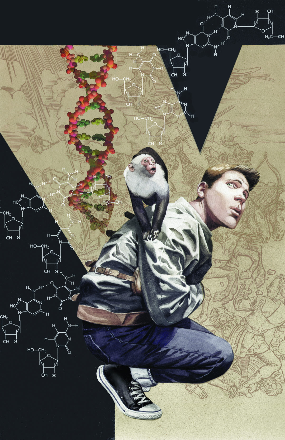 VERTIGO ESSENTIALS Y THE LAST MAN #1