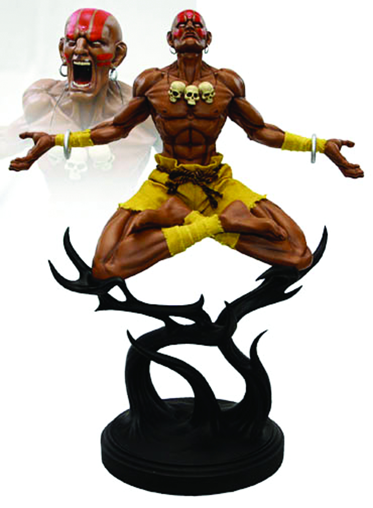 STREET FIGHTER 1/4 SCALE DHALSIM STATUE
