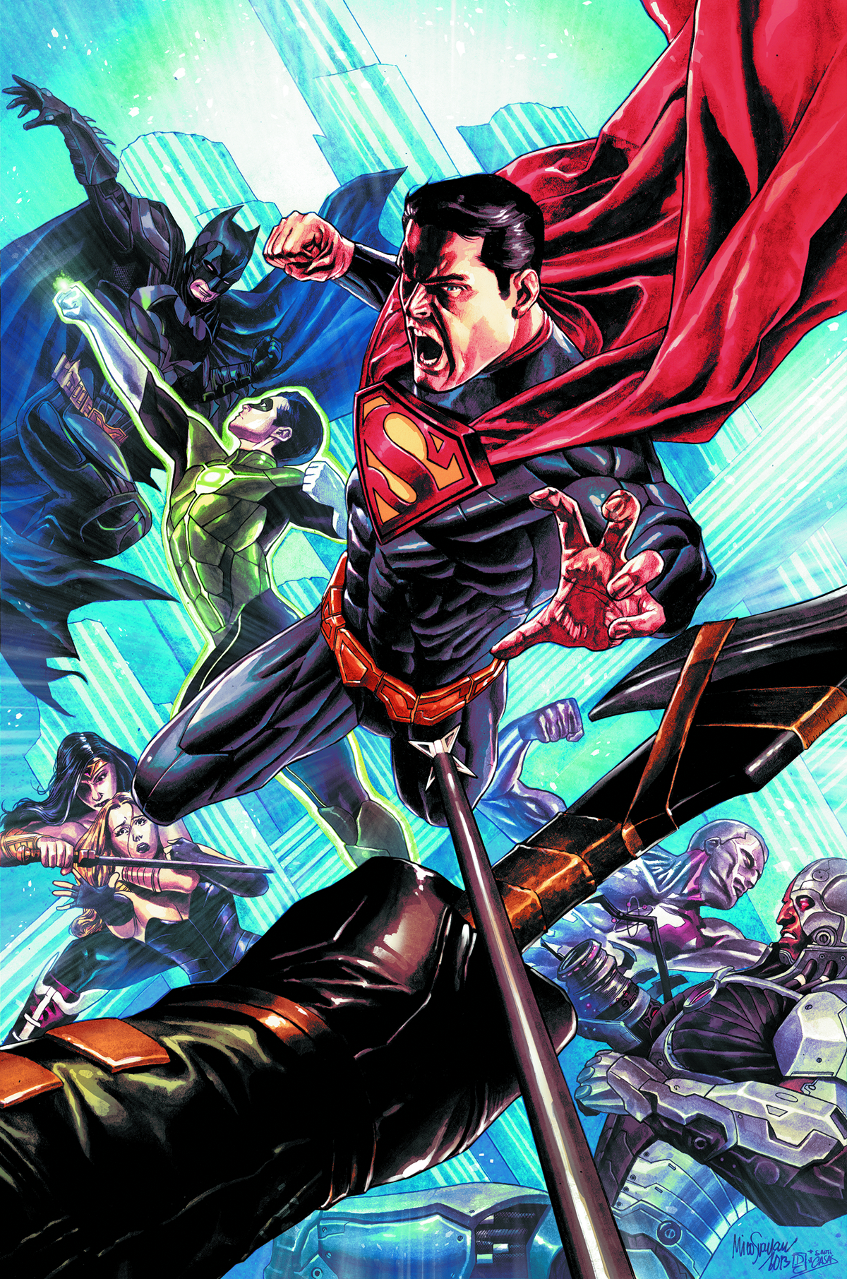 INJUSTICE GODS AMONG US #11 VAR ED