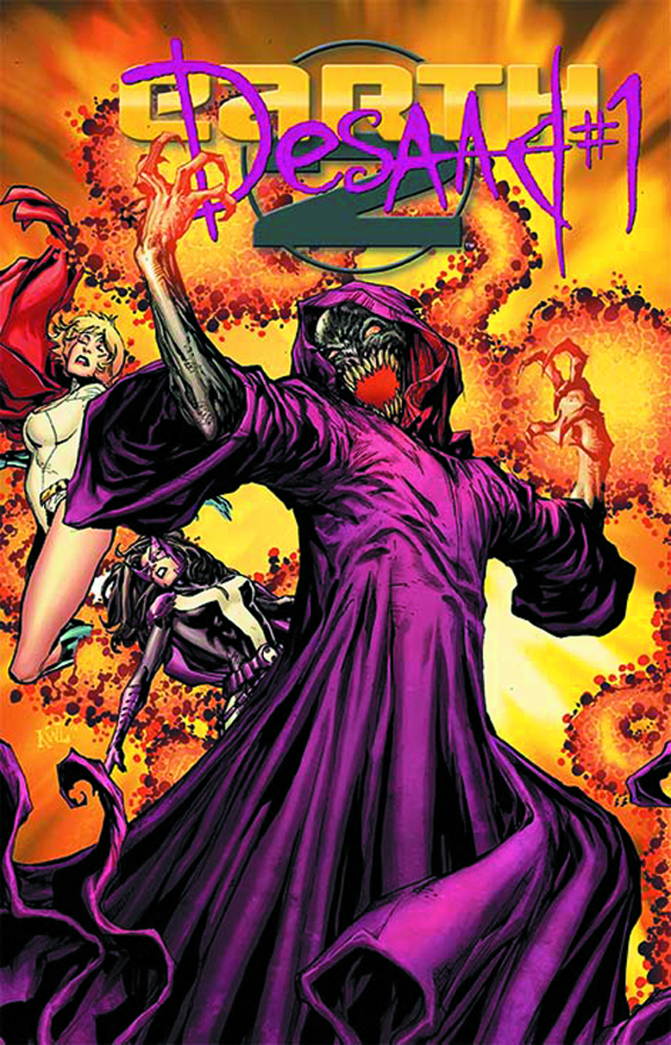 EARTH 2 #15.1 DESAAD STANDARD ED