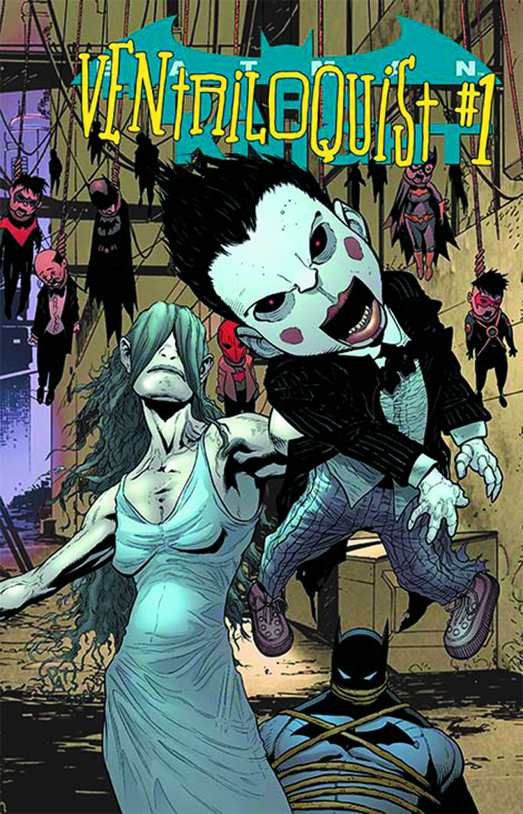 BATMAN THE DARK KNIGHT #23.1 VENTRILOQUIST STANDARD ED