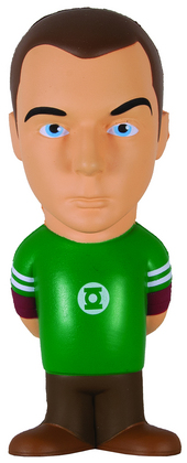 BIG BANG THEORY STRESS DOLL SHELDON COOPER