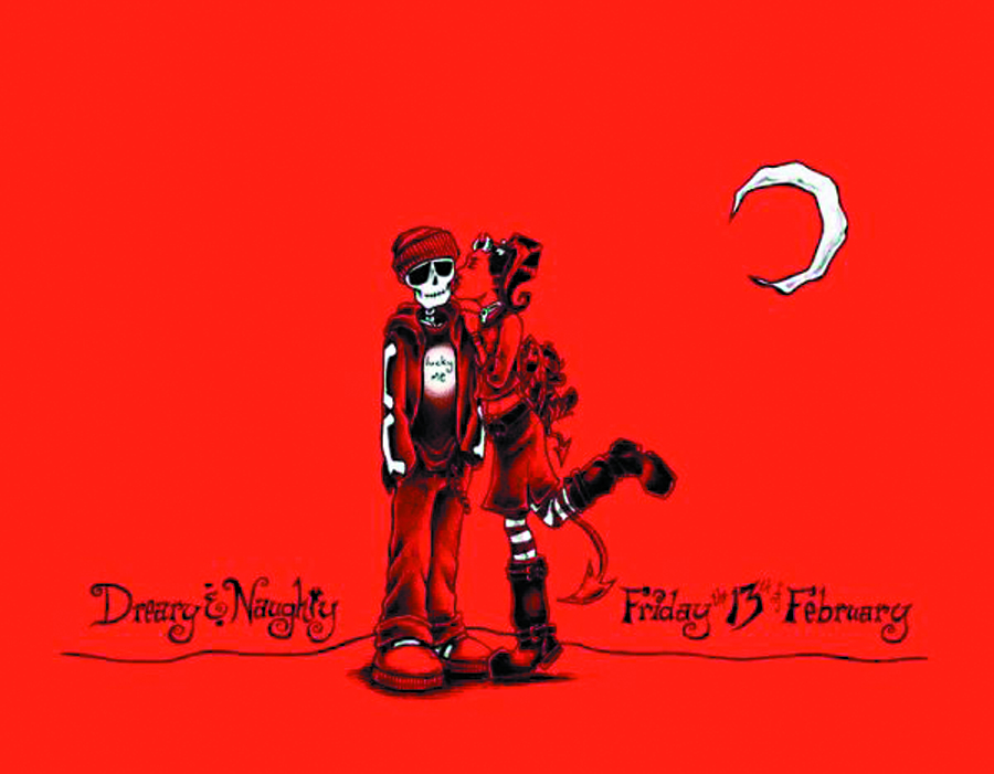DREARY & NAUGHTY ILLUS HC #2 FRIDAY 13TH OF FEBRUARY