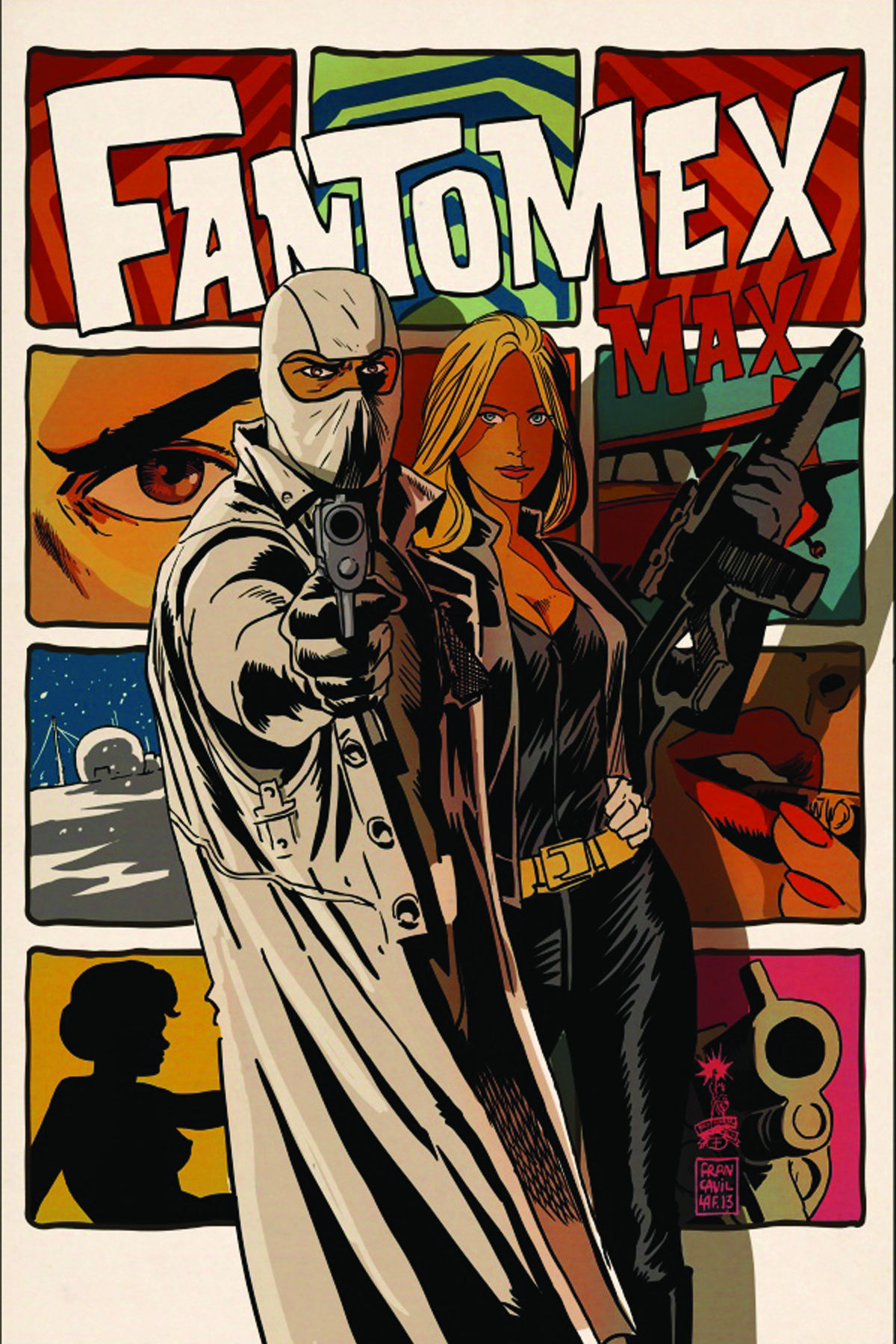 DF FANTOMEX MAX #1 CRYSTAL SGN ED