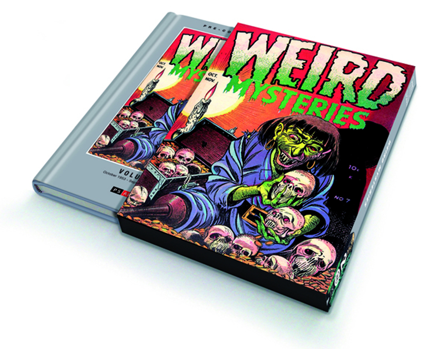 PRE CODE CLASSICS WEIRD MYSTERIES SLIPCASED ED VOL 02