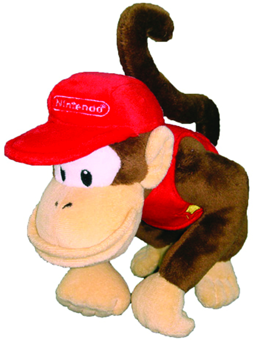 DONKEY KONG DIDDY KONG 6IN PLUSH