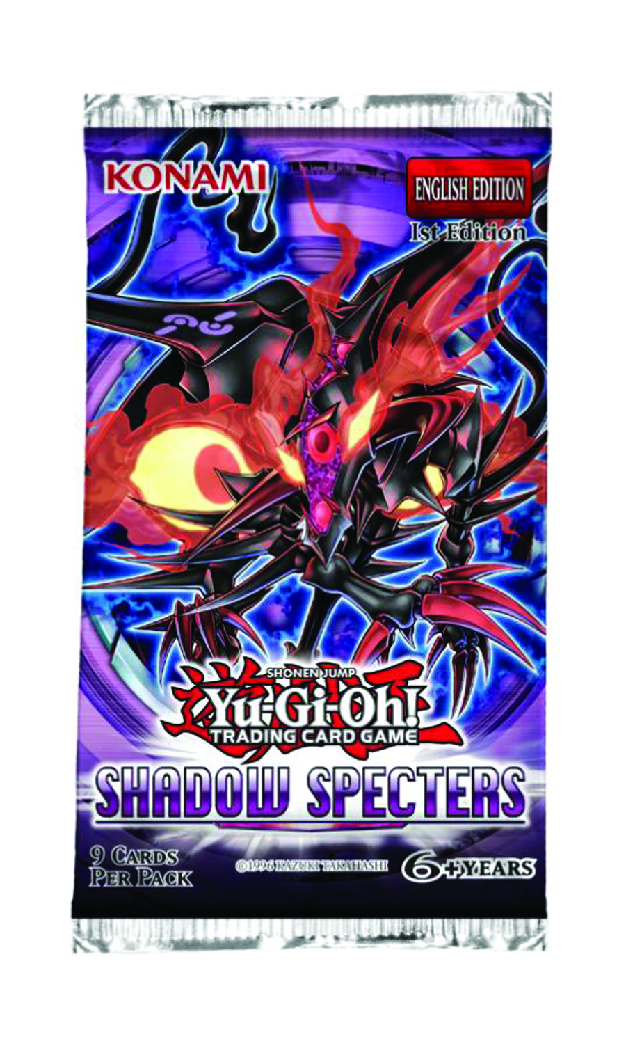 YU GI OH TCG SHADOW SPECTERS BOOSTER DIS