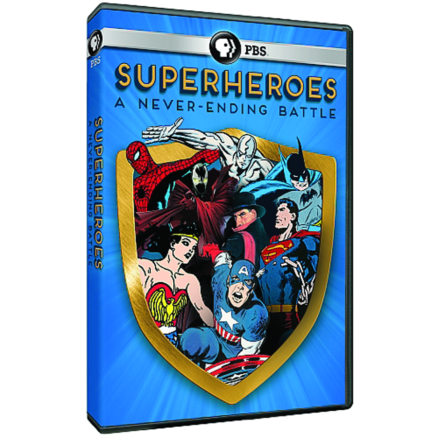 SUPERHEROES A NEVER-ENDING BATTLE DVD