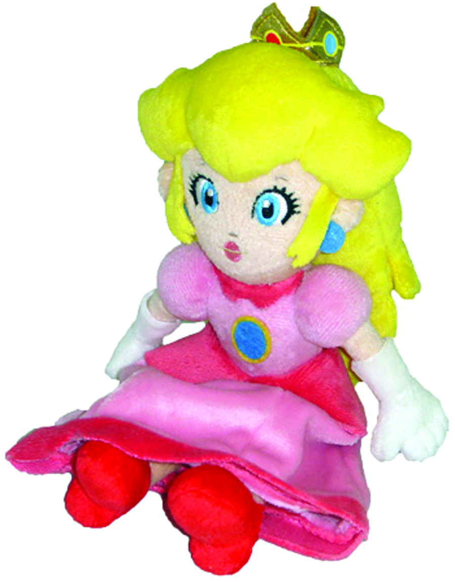 SUPER MARIO BROS PEACH 8IN PLUSH