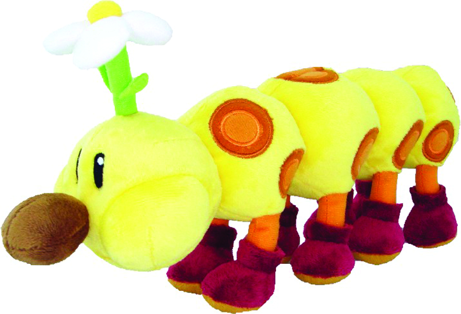 SUPER MARIO BROS WIGGLER 12IN PLUSH