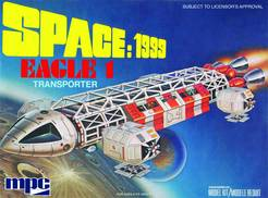 SPACE 1999 EAGLE-1 TRANSPORTER 1/72 SCALE MOD KIT