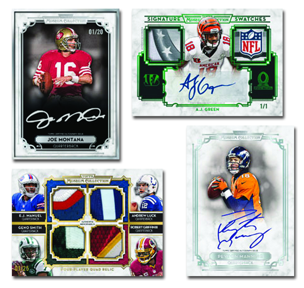 TOPPS 2013 MUSEUM COLLECTION FOOTBALL T/C BOX