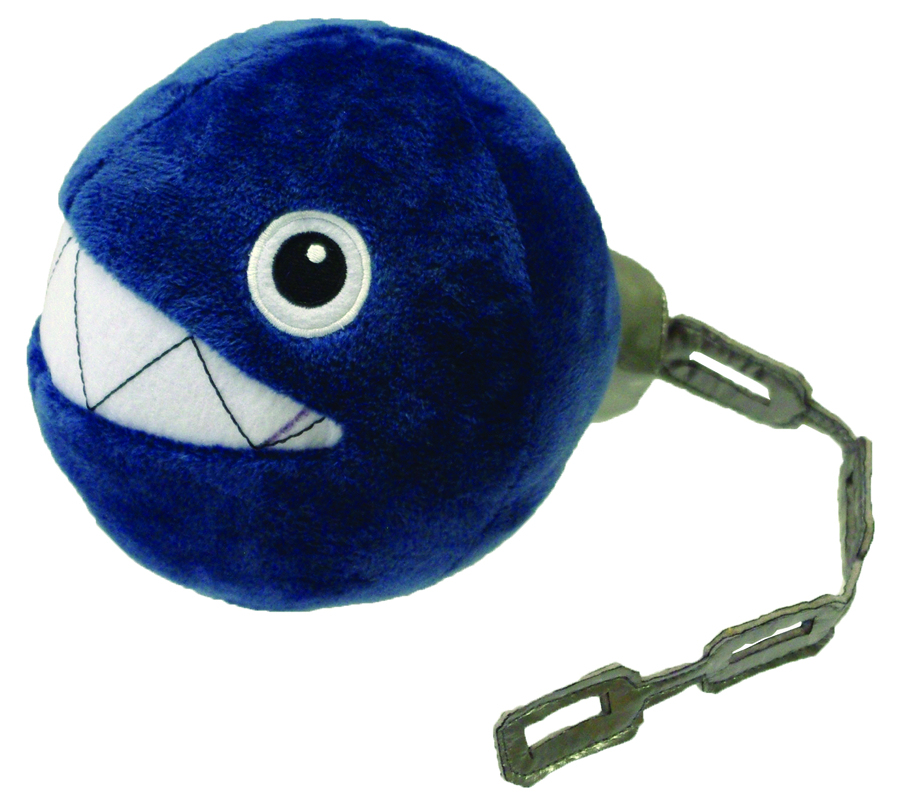 SUPER MARIO BROS CHAIN CHOMP 5IN PLUSH