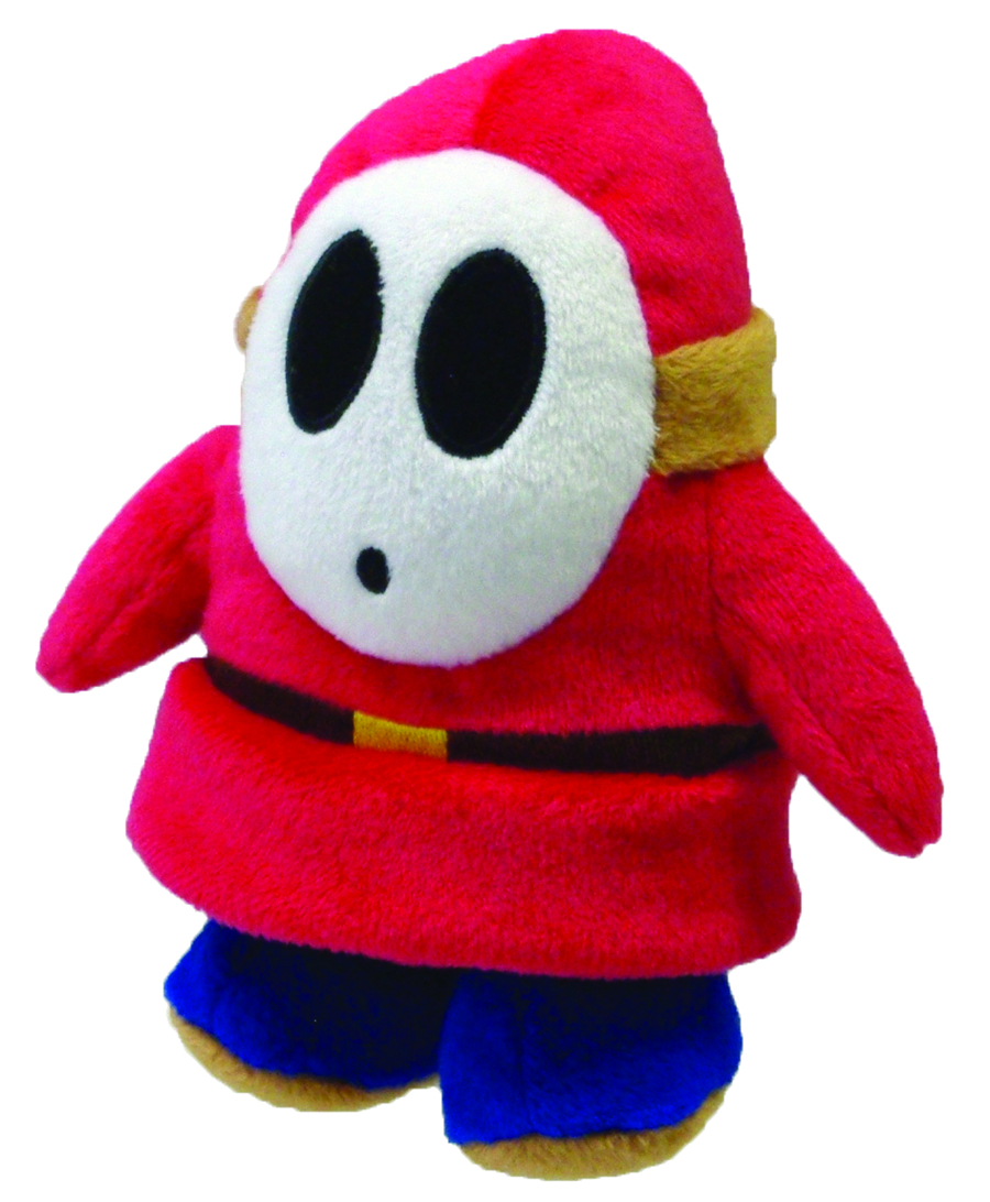 SUPER MARIO BROS SHY GUY 5IN PLUSH
