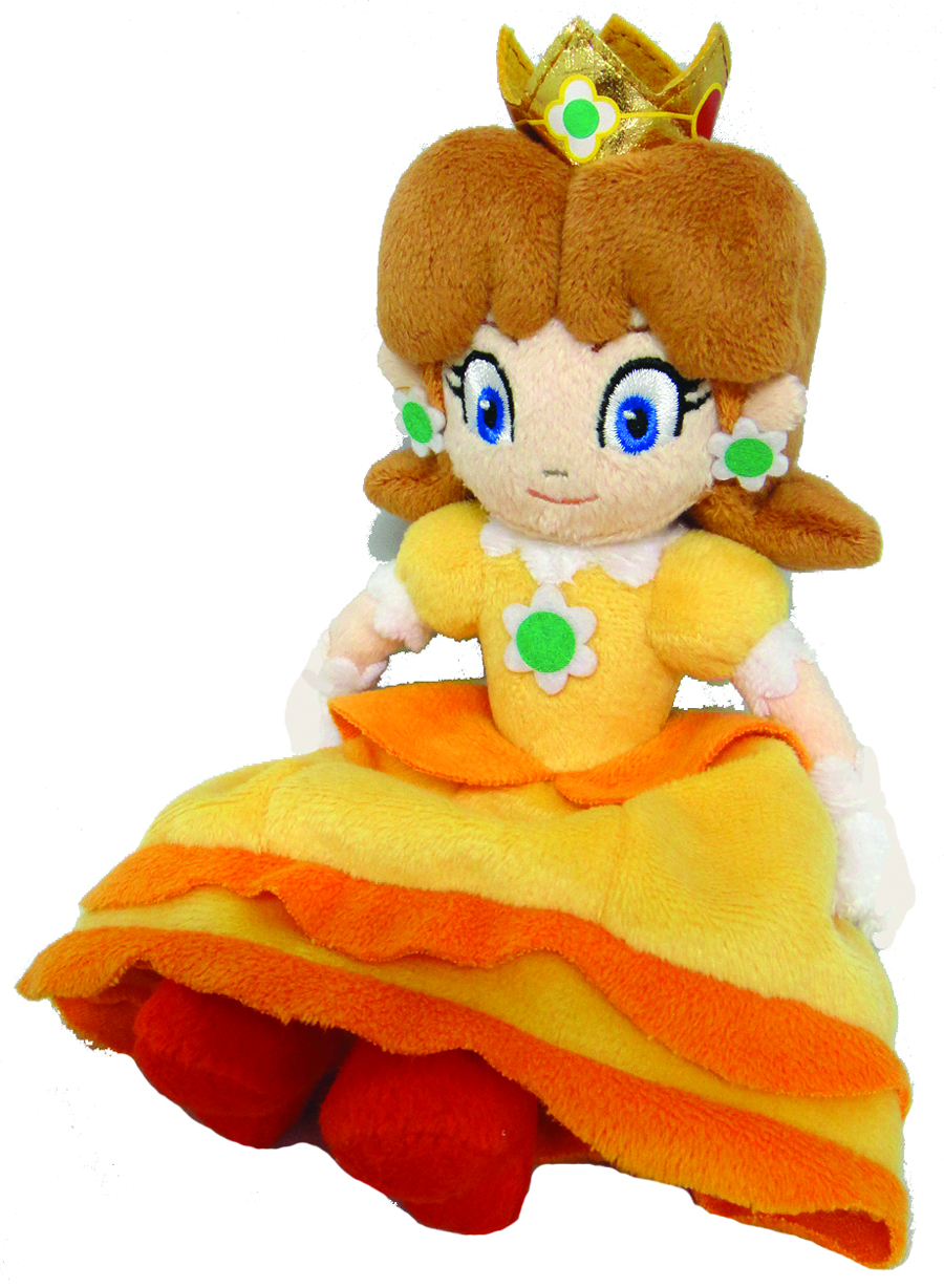 SUPER MARIO BROS DAISY 8IN PLUSH