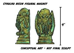 CTHULHU PX FIGURAL REFRIGERATOR MAGNET