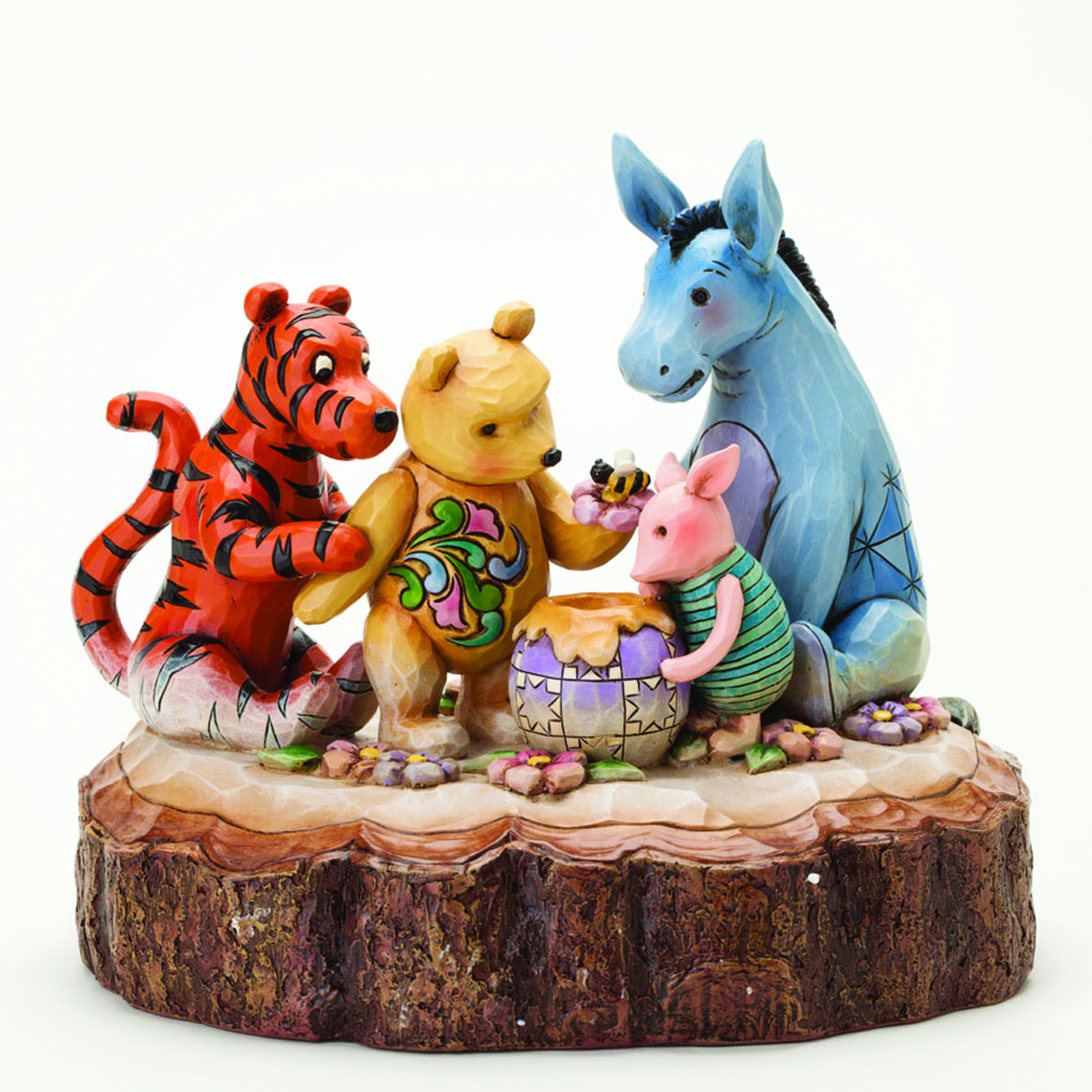 DISNEY TRADITIONS CLASSIC POOH CARVED BY HEART