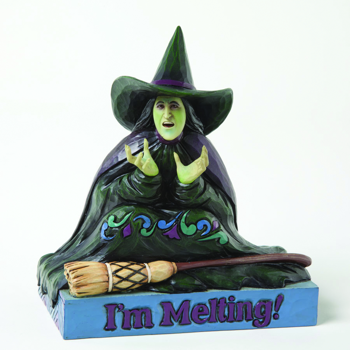 JIM SHORE WIZARD OF OZ MELTING WITCH