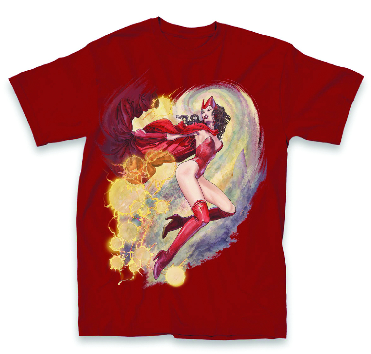 AVENGERS SCARLET WITCH PX CARDINAL T/S LG
