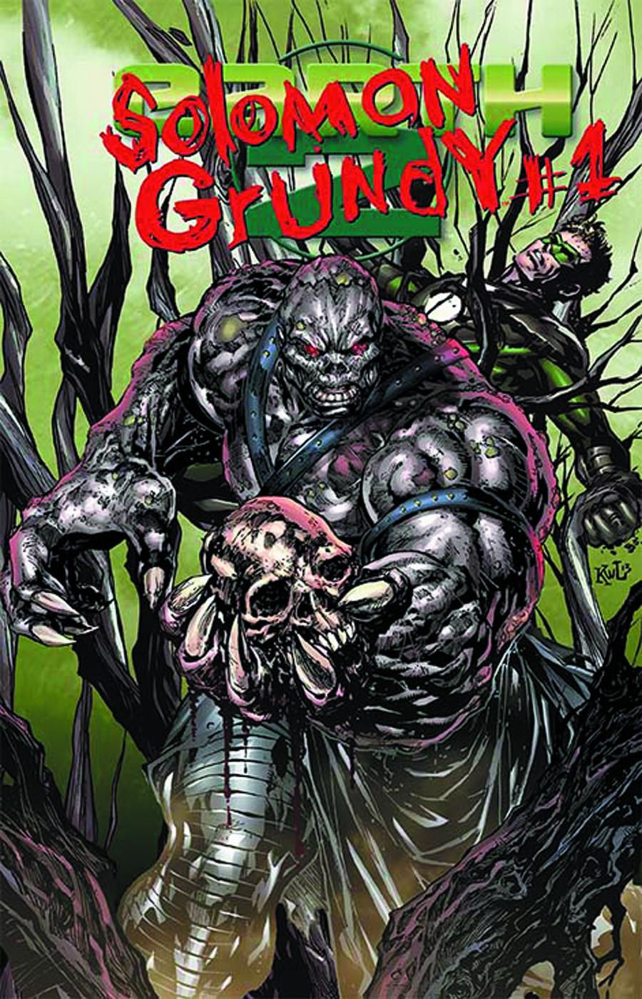 EARTH 2 #15.2 SOLOMON GRUNDY STANDARD ED