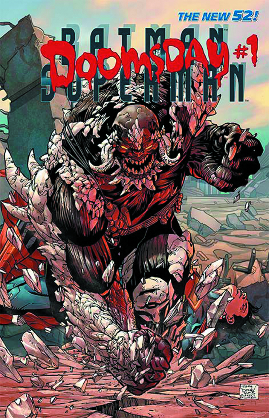 BATMAN SUPERMAN #3.1 DOOMSDAY STANDARD ED