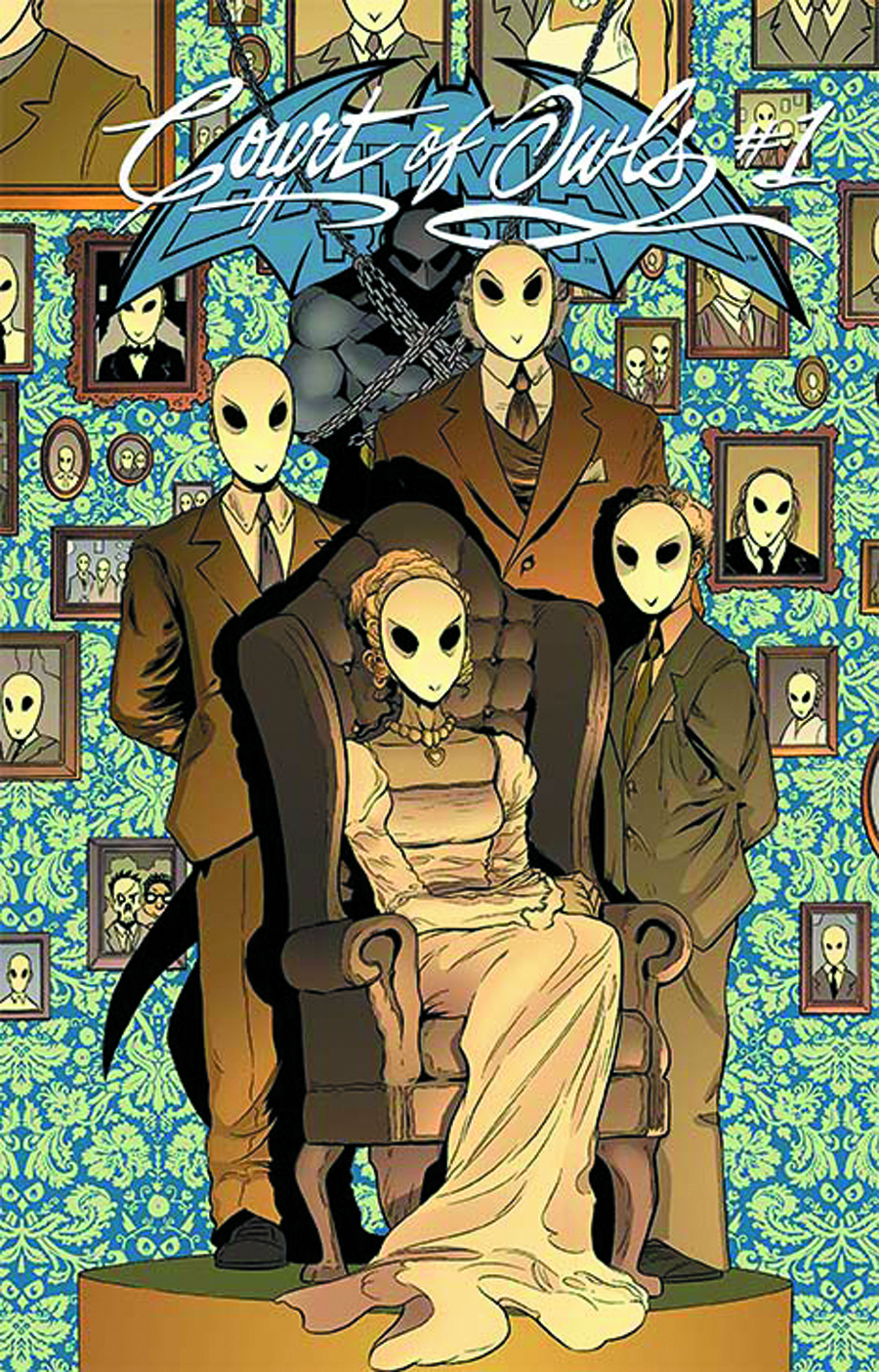 BATMAN AND ROBIN #23.2 COURT OF OWLS STANDARD ED