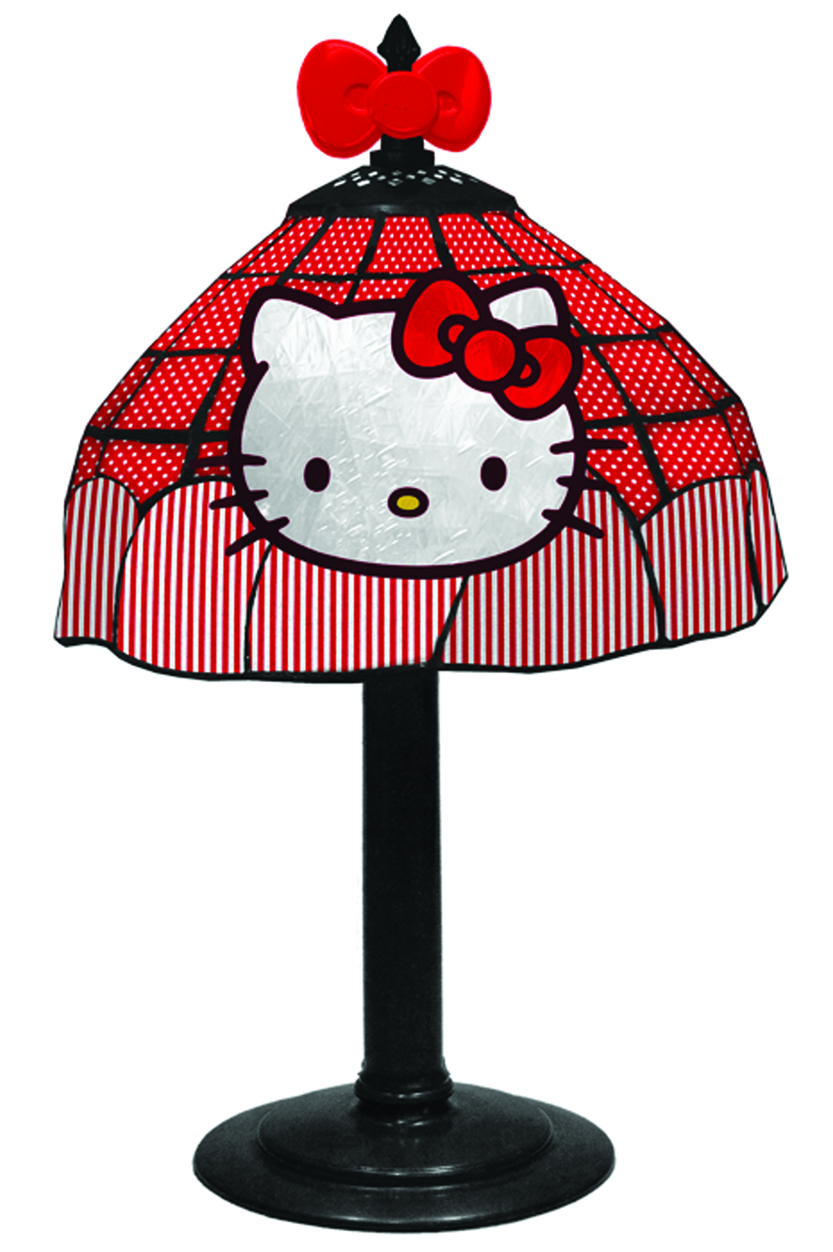 oct132248 hello kitty tiffany lamp previews world. Black Bedroom Furniture Sets. Home Design Ideas