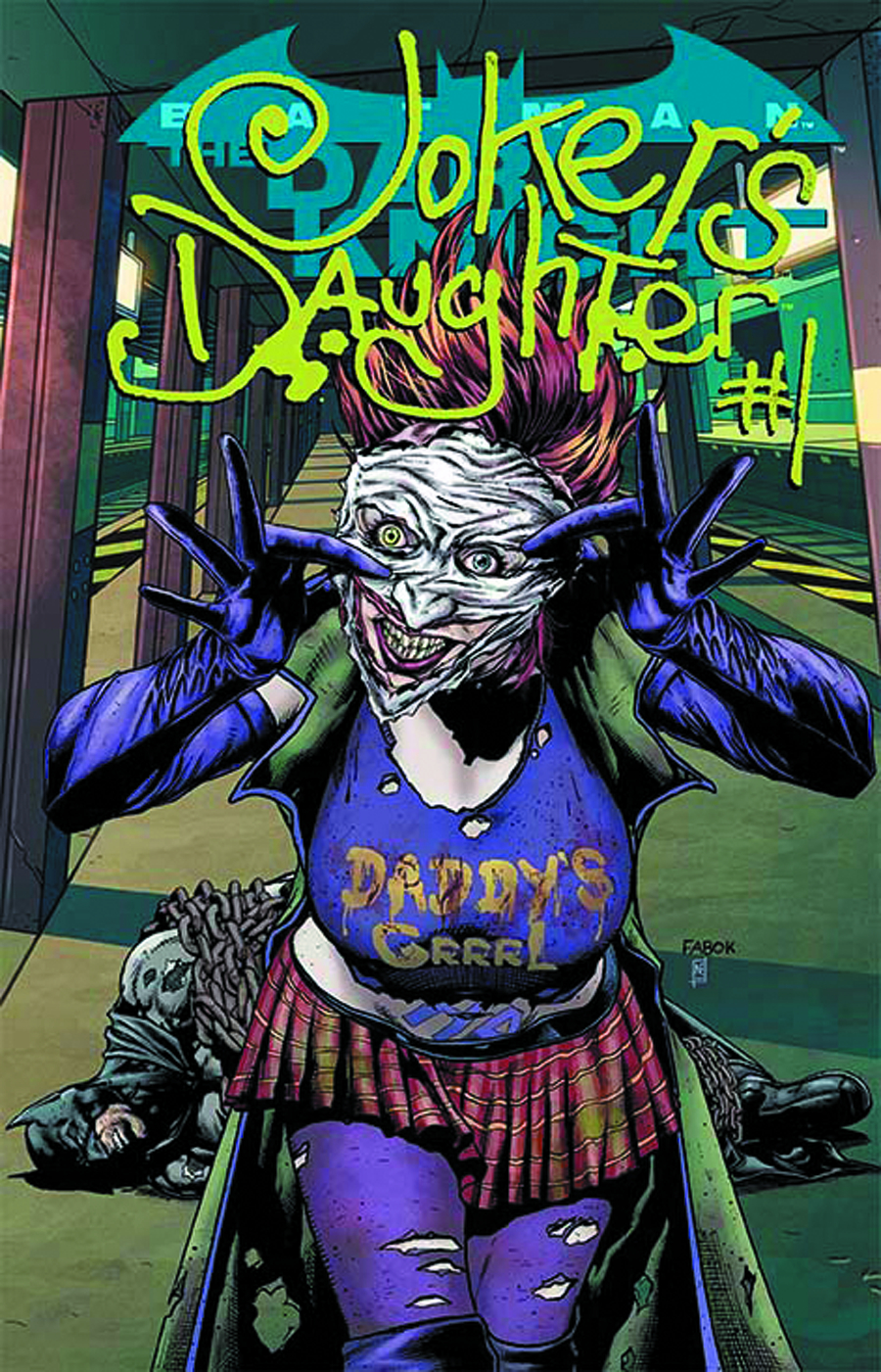 BATMAN THE DARK KNIGHT #23.4 JOKERS DAUGHTER STD ED