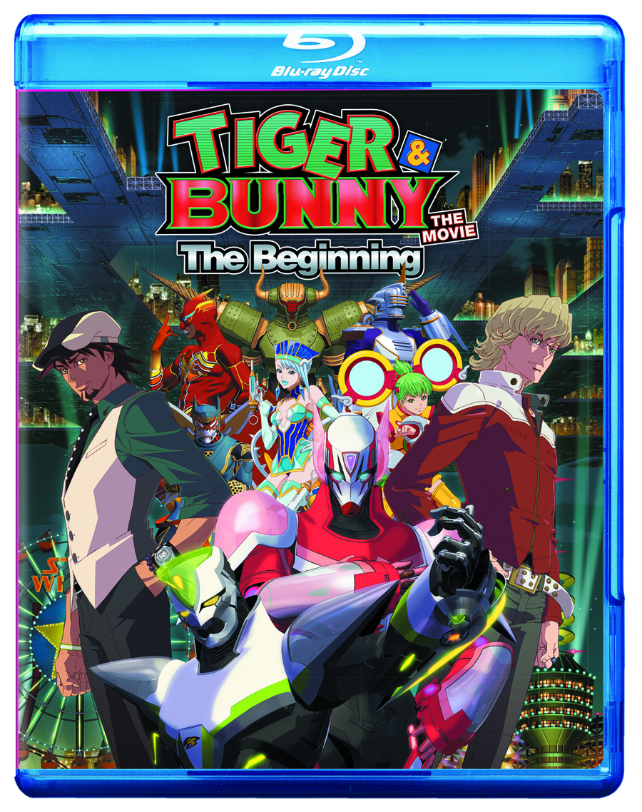 TIGER & BUNNY THE MOVIE THE BEGINNING BD